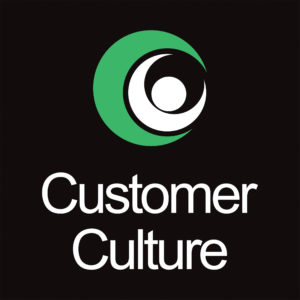 Customer Culture Logo Stacked Reversed